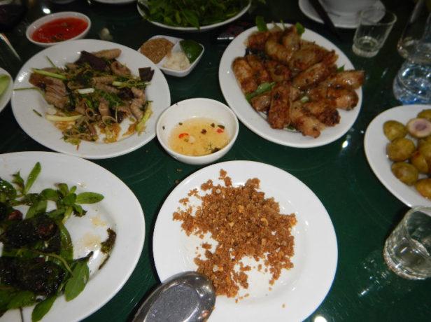 ארוחת נחש אקזוטית בכפר הנחשים, ויאטנם